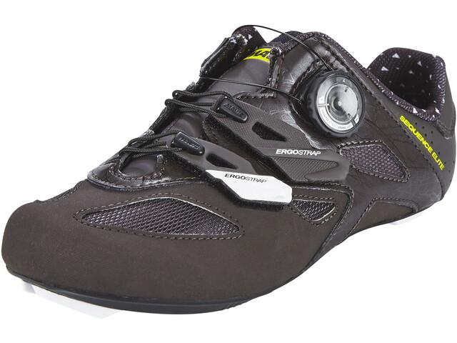 869ec9c9635fd Mavic Sequence Elite - Chaussures Femme - noir - Boutique de vélos ...